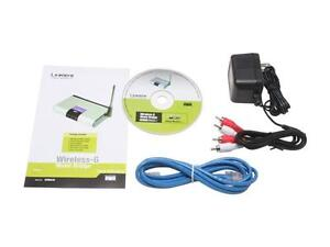 Brand new LINKSYS WMB54G Wireless-G Music Bridge London Ontario image 3