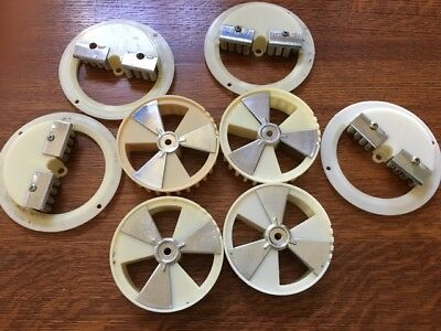 4 sets Northwestern A&A Ashland Adjustable Candy Vending Wheel and Brush