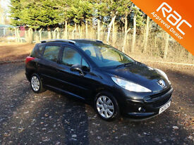 2009.09.PEUGEOT 207 SW.1.6 HDI ESTATE.S. TURBO DIESEL.