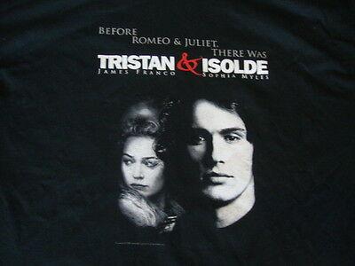 Tristan   Isolde James Franco Sophia Myles Movie Promo T Shirt Adult Size Xl