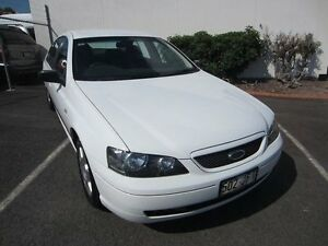 2004 Ford Falcon BA XT Winter White 4 Speed Sports Automatic Sedan Buderim Maroochydore Area Preview