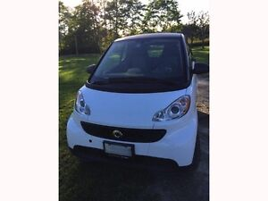 Smart Car for Two - White pure package.