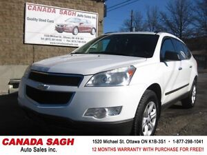 2009 Chevrolet Traverse 7RIDERS GREAT SUV, 12M.WRTY+SAFETY $8990