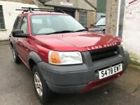 Land Rover Freelander diesel, the engine is perfect, being sold for spares or repair, a youngster st