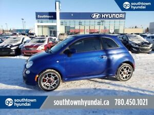 2013 Fiat 500 SPORT/SUNROOF/LEATHER/HEATED SEATS