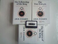 ABC MEGA RARE J.R.R. TOLKIEN LORD OF THE RINGS 38 AUDIO BOOK CASSETTE TAPES BOX SET. We've 1000's !