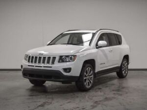 2015 Jeep Compass LIMITED LEATHER SUNROOF 4X4