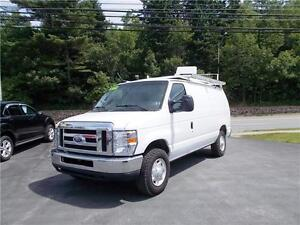 2011 FORD E250 ECONOLINE VAN! EXCELLENT CONDITION WITH SHELVING!