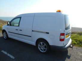 Volkswagon Caddy Maxi in lovely condition and alloy wheels
