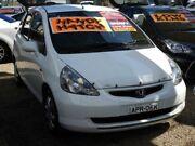 2003 Honda Jazz GD VTi White 7 Speed Constant Variable Hatchback Minchinbury Blacktown Area Preview