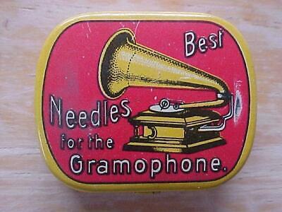 Vintage Gramophone Needles Tin Germany