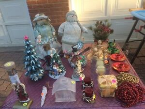Multiple Christmas decorations (amazing package deal!)