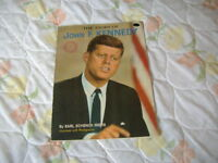 JOHN F KENNEDY 1960'S BOOK