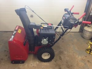 Snowblower - Like New -Prepare for next year with a great price!