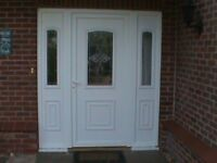FRONT DOOR AND SIDE PANELS