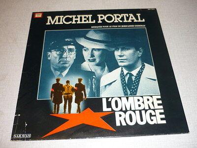 BOF L'OMBRE ROUGE 33 TOURS FRANCE JACQUES DUTRONC