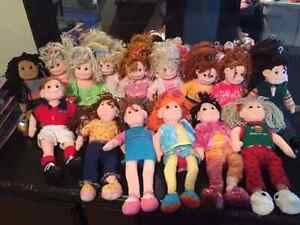 Ty Beanie Boppers Collection in pieces -  stuffed animal dolls