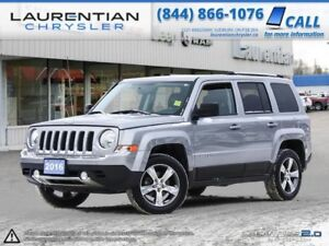 2016 Jeep Patriot Sport- SUNROOF, BLUETOOTH, 4X4, LEATHER!!!
