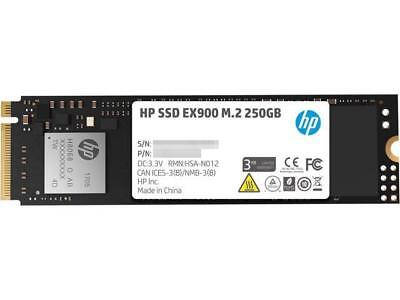 HP EX900 M.2 250GB PCIe 3.0 x4 NVMe 3D TLC NAND Internal Solid State Drive (SSD)