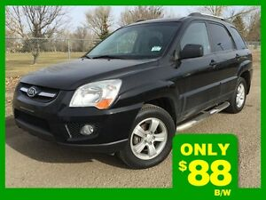 2009 Kia Sportage LX-AWD   **LEATHER-SUNROOF**