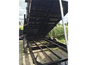 GET THE LARGEST 7 TON DUMP TRAILER 7 X 16'  & PAY $190 MONTHLY London Ontario image 3