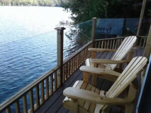 Freshly renovated cottage, Bancroft area.Right on the water.....