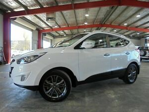 2014 Hyundai ix35 LM3 MY14 Elite AWD White 6 Speed Sports Automatic Wagon Welshpool Canning Area Preview