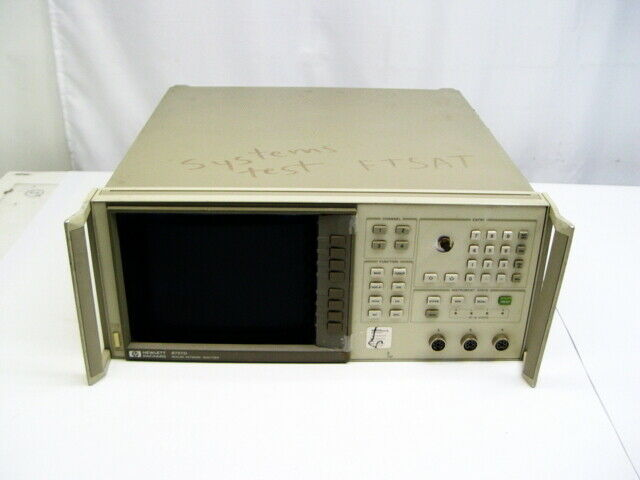 HP Agilent 8757D Scalar Network Analyzer