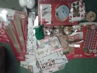 CRAFTING FOR CHRISTMAS NEVER STARTS TO EARLY! nearing £2000 worth of brand new crafting items