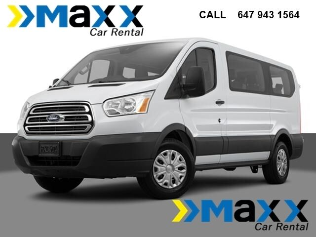 8, 10, 12 and 15 passenger van rental Toronto 647 943 1564 ...