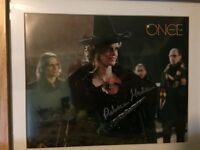 Rebecca Mader signed photo, official signature