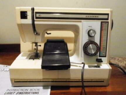 Janome 2015 Sewing Machine,comes with pedal, manual and case. Newtown Geelong City Preview