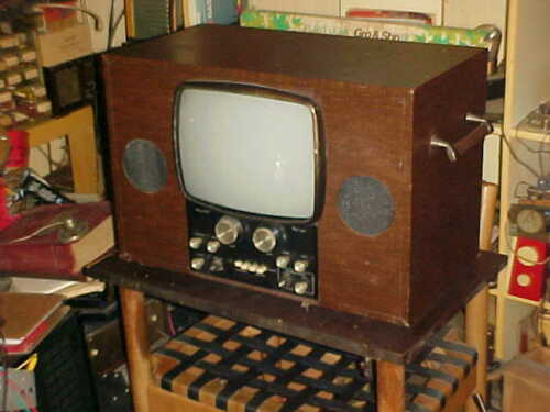 RETRO VINTAGE TV SETCHELL CARLSON 1960s UNITIZED ALL TUBE GAMING