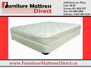 CLEARANCE SALE- MEMORY FOAM MATTRESS- LOWEST PRICE IN CANADA**