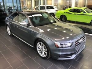 2014 Audi S4 3.0 PROGRESSIV, AWD, TWO-TONE LEATHER
