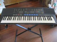 Yamaha PSR47 Electric Keyboard c/w Folding/Adjustable Stand