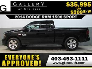 2014 DODGE RAM SPORT CREW **EVERYONE APPROVED** $0 DOWN $209/BW!