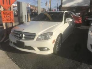 2009 Mercedes-Benz C-Class 2.5L 4matic NO ACCIDENT AMG CERTIFIED