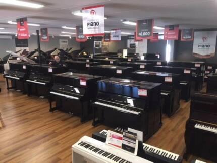 Yamaha U1 and U3 Used upright pianos 50+ in store