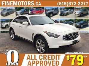 2010 INFINITI FX50 S * NAV * REAR CAM * LEATHER * REMOTE START