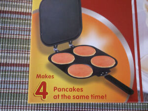 Pancake Maker & Mixing Stainless Steel Bowl New & More