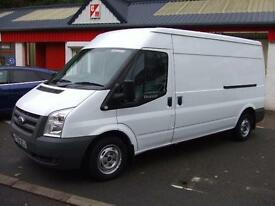 Ford Transit 2.2TDCi Duratorq ( 140PS ) 300L custom connect Med Roof Van LWB