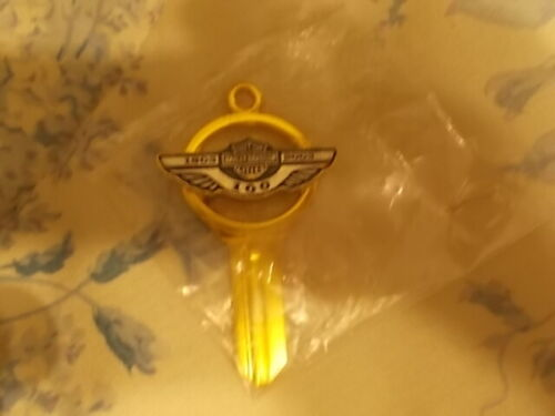 HARLEY DAVIDSON 100TH ANNIVERSARY UNCUT OR CIRCULATED OBSOLETE GOLD KEY