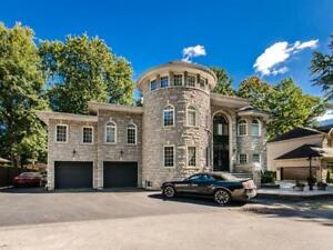 Large luxuary house with indoor pool Bois de Saraguay MTL