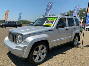 2012 Jeep Cherokee KK Limited (4x4) Silver 4 Speed Automatic Wagon Harrington Greater Taree Area Preview