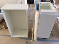 Howdens Kitchen Units Gloss White Cabinets