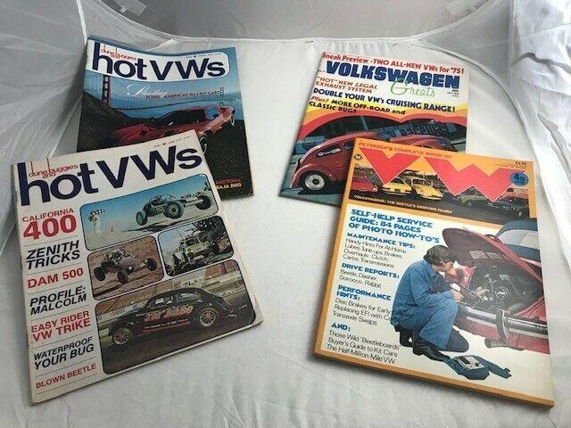 Volkswagen Vintage Magazine Lot - nice!
