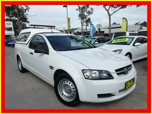 2009 Holden Ute VE MY09.5 Omega White 4 Speed Automatic Utility North Parramatta Parramatta Area Preview