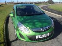 Vauxhall/Opel Corsa 1.0i 12v ( 65ps ) ecoFLEX 2011MY S 24350 Mls £30 Tax FSH