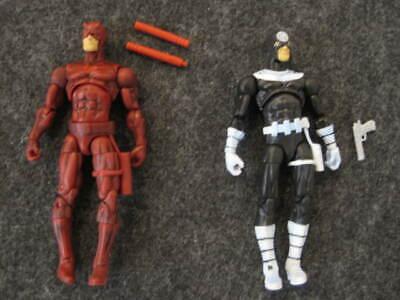 "Marvel Legends Universe 3.75"" loose Bullseye Daredevil 2 pk action figure Hasbro"
